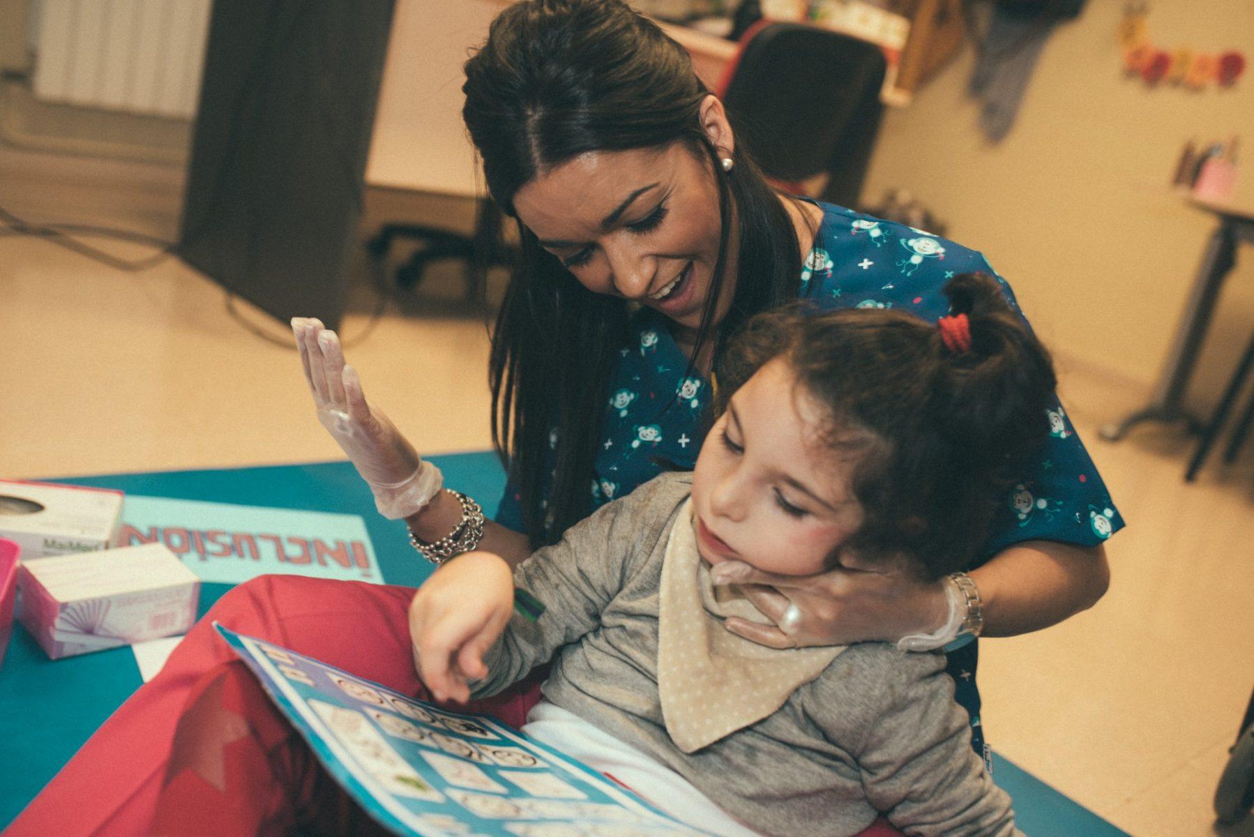 atención temprana parálisis cerebral